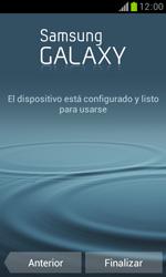 Samsung S7560 Galaxy Trend - Primeros pasos - Activar el equipo - Paso 13