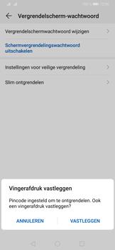Huawei P30 Pro - Beveiliging - stel in of wijzig pincode voor je toestel - Stap 8