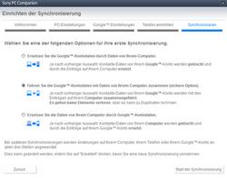 Sony Xperia Z1 Compact - Software - Sicherungskopie Ihrer Daten erstellen - 9 / 11
