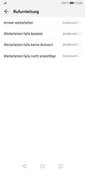 Huawei Mate 10 Pro - Android Pie - Anrufe - Rufumleitungen setzen und löschen - Schritt 6