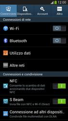 Samsung Galaxy S 4 Active - Internet e roaming dati - Come verificare se la connessione dati è abilitata - Fase 4