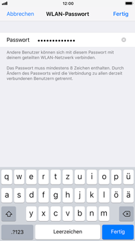 Apple iPhone 7 Plus - Internet - Mobilen WLAN-Hotspot einrichten - 7 / 10