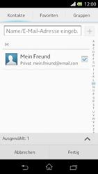 Sony Xperia L - E-Mail - E-Mail versenden - Schritt 7