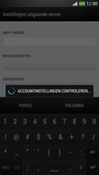 HTC One Mini - E-mail - Account instellen (IMAP met SMTP-verificatie) - Stap 18