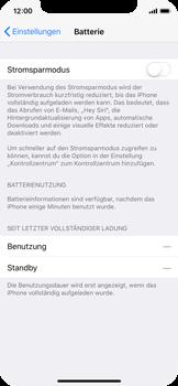 Apple iPhone X - Gerät - Batterielebensdauer/Energiesparmodus - 4 / 6