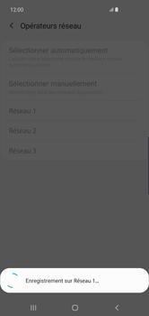 Samsung Galaxy S10 Plus - Réseau - Sélection manuelle du réseau - Étape 12