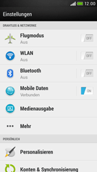 HTC Desire 601 - Ausland - Im Ausland surfen – Datenroaming - 2 / 2