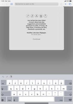Apple iPad Pro 11 (2018) - iPadOS 13 - Internet et roaming de données - Navigation sur Internet - Étape 4