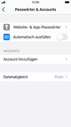Apple iPhone SE - iOS 13 - E-Mail - Konto einrichten (yahoo) - Schritt 4