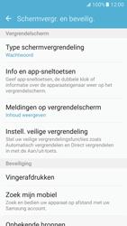 Samsung Galaxy S7 - Beveiliging en ouderlijk toezicht - Toegangscode instellen - Stap 13