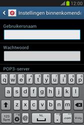 Samsung S6790 Galaxy Fame Lite - e-mail - handmatig instellen - stap 8