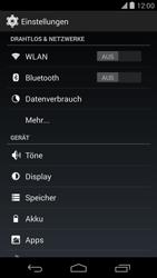 LG D821 Google Nexus 5 - Ausland - Auslandskosten vermeiden - Schritt 6