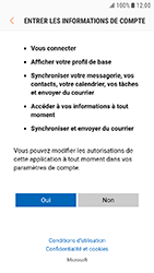 Samsung Galaxy Xcover 4 - E-mail - Configuration manuelle (outlook) - Étape 8