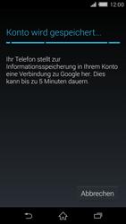 Sony Xperia Z2 - Apps - Konto anlegen und einrichten - Schritt 15