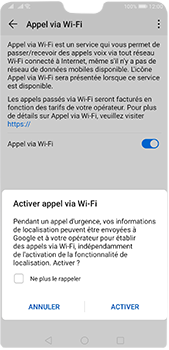 Huawei P20 Pro - Android Pie - WiFi - Activez WiFi Calling - Étape 8