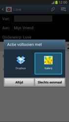 Samsung I9305 Galaxy S III LTE - E-mail - Hoe te versturen - Stap 13