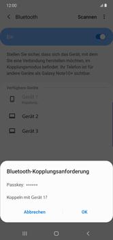 Samsung Galaxy Note 10 Plus 5G - Bluetooth - Verbinden von Geräten - Schritt 8