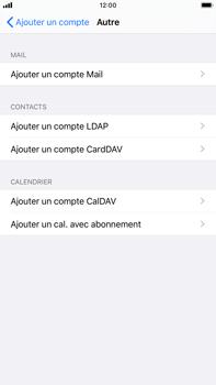 Apple iPhone 6s Plus - iOS 13 - E-mail - Configurer l