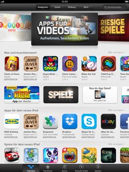 Apple iPad mini - Apps - Herunterladen - Schritt 3