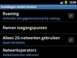 Samsung B5510 Galaxy TXT - netwerk en bereik - gebruik in binnen- en buitenland - stap 6