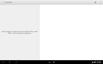 Sony Xperia Tablet Z LTE - MMS - Erstellen und senden - Schritt 6