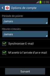 Samsung Galaxy Fame Lite - E-mail - configuration manuelle - Étape 18