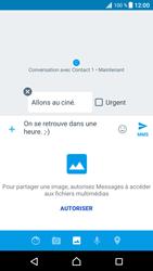 Sony Xperia XZ Premium - Contact, Appels, SMS/MMS - Envoyer un MMS - Étape 13