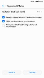 Huawei Honor 9 - E-Mail - Konto einrichten (yahoo) - Schritt 8
