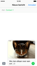 Apple iPhone SE - iOS 10 - MMS - Afbeeldingen verzenden - Stap 14