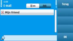 Nokia N97 - E-mail - e-mail versturen - Stap 7