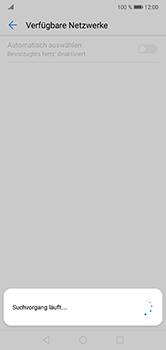 Huawei P20 Lite - Netzwerk - Manuelle Netzwerkwahl - Schritt 8
