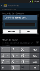 Samsung C105 Galaxy S IV Zoom LTE - SMS - Configuration manuelle - Étape 7