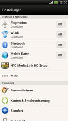 HTC One X - Netzwerk - Manuelle Netzwerkwahl - Schritt 4