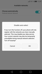 Huawei Huawei P9 Lite - Network - Manually select a network - Step 8