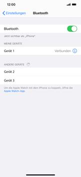 Apple iPhone 12 - Bluetooth - Verbinden von Geräten - Schritt 8
