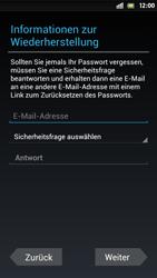 Sony Xperia S - Apps - Einrichten des App Stores - Schritt 9