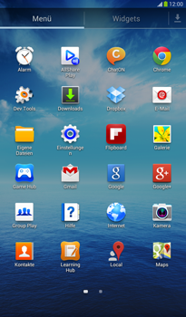 Samsung Galaxy Tab 3 7-0 - E-Mail - Konto einrichten - 2 / 2