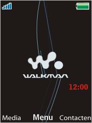 Sony W595 - Internet - Automatisch instellen - Stap 1
