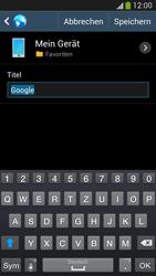 Samsung Galaxy S 4 Active - Internet und Datenroaming - Verwenden des Internets - Schritt 8