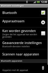 HTC A6363 Legend - Bluetooth - headset, carkit verbinding - Stap 8