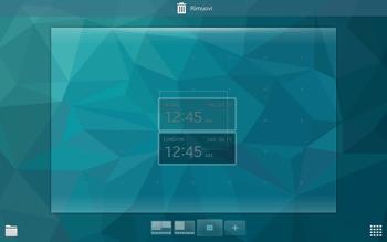 Samsung T805 Galaxy Tab S - Operazioni iniziali - Installazione di widget e applicazioni nella schermata iniziale - Fase 6