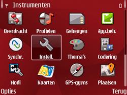 Nokia E63 - MMS - Handmatig instellen - Stap 4