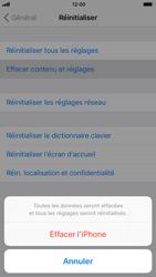 Apple iPhone 7 iOS 11 - Téléphone mobile - réinitialisation de la configuration d