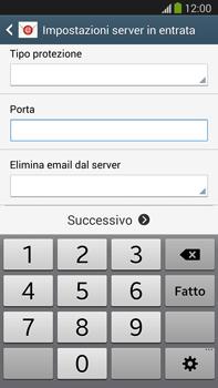Samsung Galaxy Note III LTE - E-mail - configurazione manuale - Fase 10