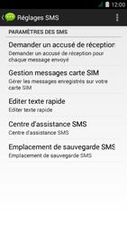 Acer Liquid Z410 - SMS - Configuration manuelle - Étape 7