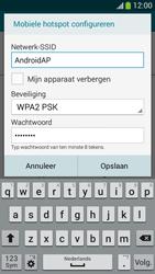 Samsung I9195i Galaxy S4 mini VE - WiFi - Mobiele hotspot instellen - Stap 8