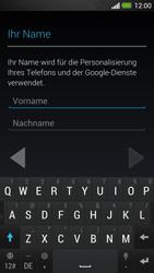 HTC One - Apps - Einrichten des App Stores - Schritt 5