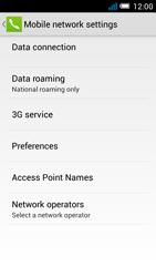 Alcatel Pop C7 - Internet and data roaming - Disabling data roaming - Step 9