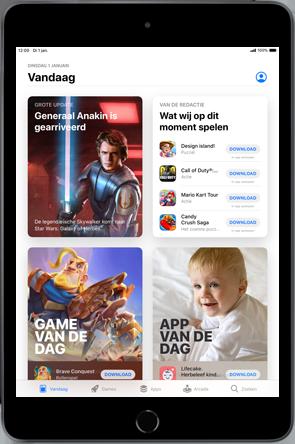 Apple iPad mini 4 - iPadOS 13 - Apps - apps updaten - Stap 5