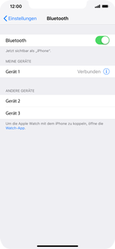 Apple iPhone XR - Bluetooth - Geräte koppeln - 8 / 9